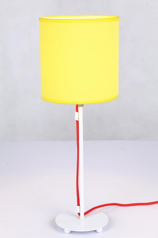 table lamp tc fabric shade spray paint metal base e14 40w nokkoo. Black Bedroom Furniture Sets. Home Design Ideas