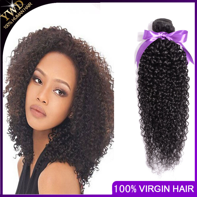 Гаджет  Cheap1 Piece Only  Virgin Hair Afro Kinky Curly Malaysia Virgin Hair Weave Curly Hair Extension Kinky Curly None Волосы и аксессуары