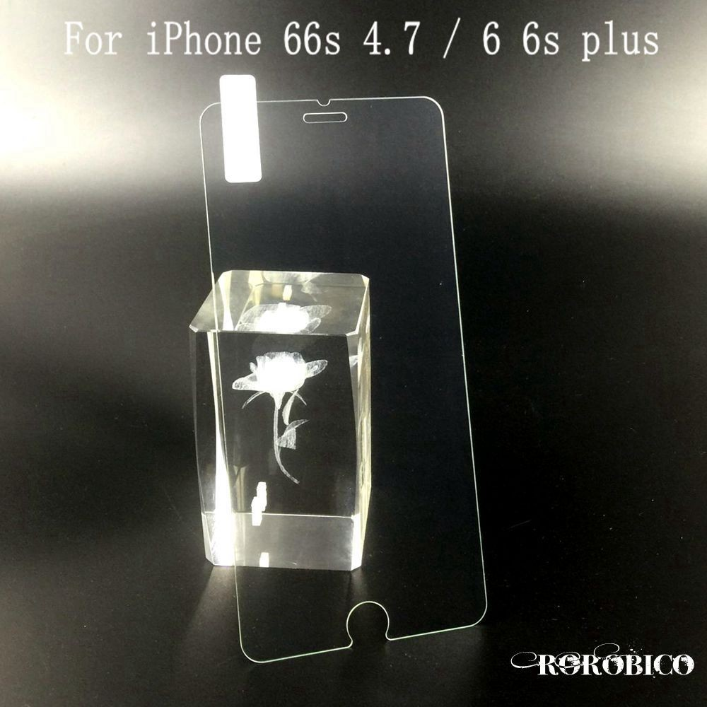0.3mm 9H 2.5D tempered glass For iphone 4s 5 5s 5C SE 6 6s plus screen protector protective guard film front case cover
