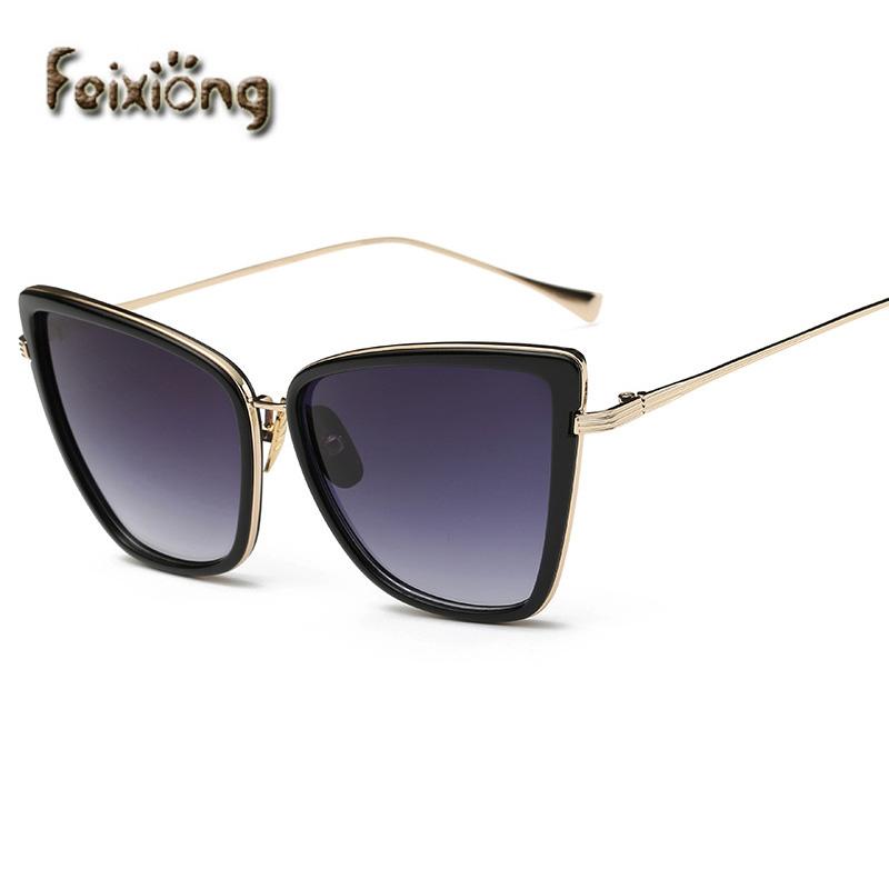 FEIXIONG gafas de sol cat eye sunglasses women lunette de soleil femme sun glasses for women vintage glasses men oculos de sol(China (Mainland))