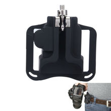 Hot Camera Quick Strap Holster Hanger Waist Belt Buckle Button Mount for Canon 600D 700D 650D