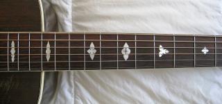 "guitar accessories new 1 pcs 25.5 ""nice ebony Guitar fingerboard Guitar parts 00-4 #(China (Mainland))"