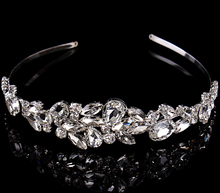2015 Fashion hair jewelry wedding bridal crown accessories rhinestone sparking women bridal tiara(China (Mainland))