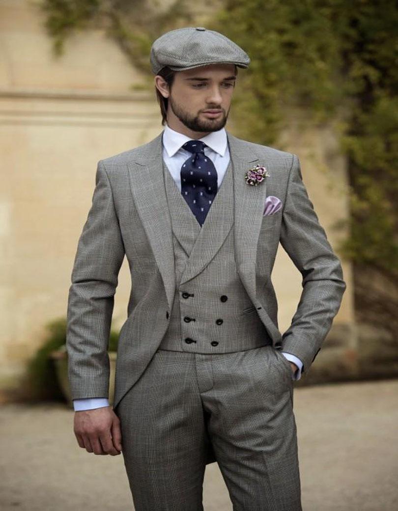 Men Suit Grey Promotion-Shop for Promotional Men Suit Grey on