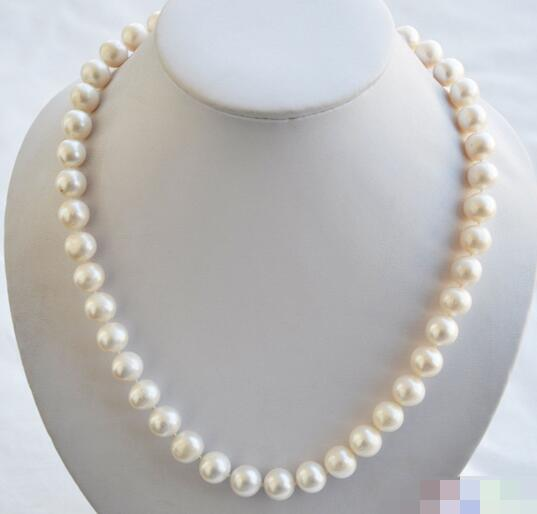 song voge gem nanJ2223 ROUND WHITE FRESHWATER PEARL NECKLACE MABE<br><br>Aliexpress