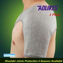 Bamboo Charcoal Fibre Shoulder Protector 4-Way Stretch Self-Heating Shoulder-pads Breathable Absorbent Shoulder Supporter Belt(China (Mainland))