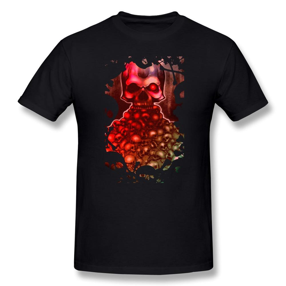 2016 Fashion Short Sleeve skull candy men t-shirt Cheap Sale 100 % Cotton T Shirt for Men's(China (Mainland))