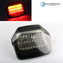 Hot sale Motorcycle Integrate LED Tail Signal Light for Honda CB 400 1300 VTEC 2003-2008 04 05 06 07 Free shipping C40(China (Mainland))