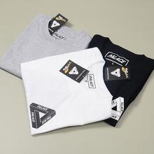 2016 palace classic skate triangle printing summer clothes noah gosha rubchinskiy cotton shirt short sleeve t-shirt