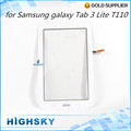 1 piece free shipping replacement partsl for Samsung galaxy Tab 3 Lite T110 touch digitizer lcd
