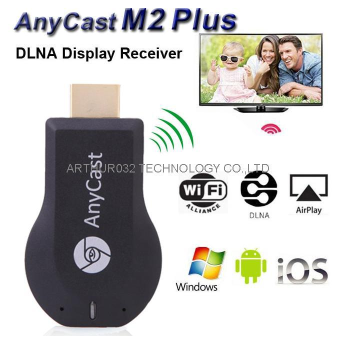 AnyCast M2 Plus iPush Mini WiFi Display TV Dongle Receiver 1080P Airmirror DLNA Airplay Miracast Easy Sharing HDMI Android Stick(China (Mainland))