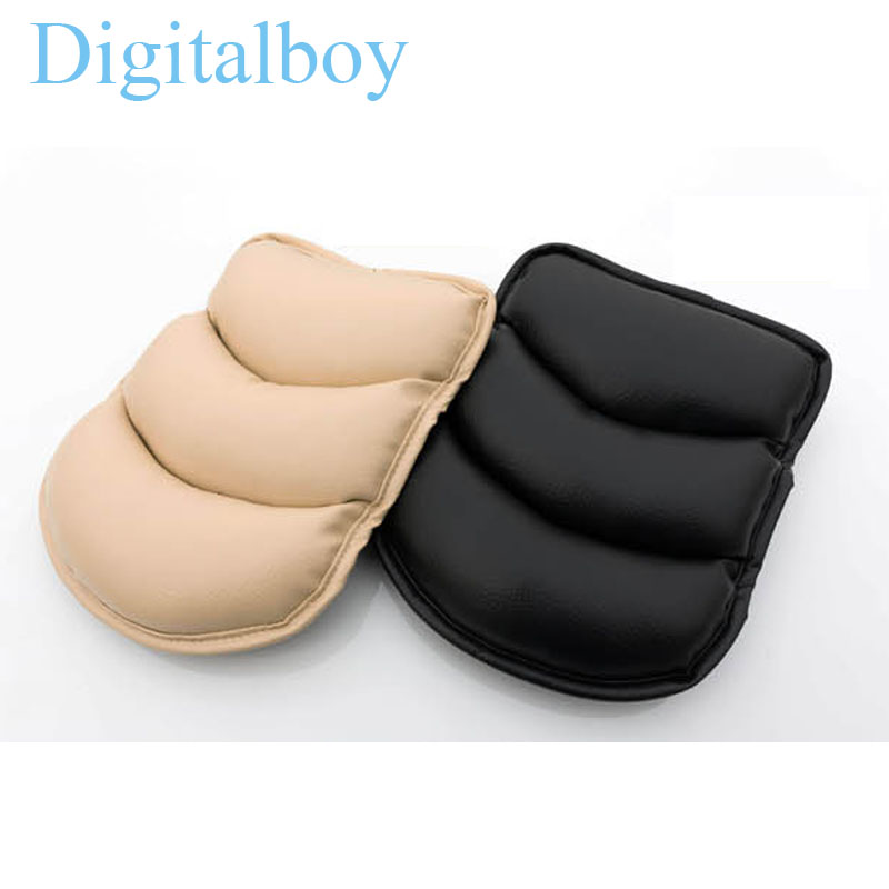 Universal Car Armrest Box Seat Arm Rest For Ford Focus Audi A4 B5 B6 Auto Accessories Pad Protective Case Soft PU Mats Cushion()
