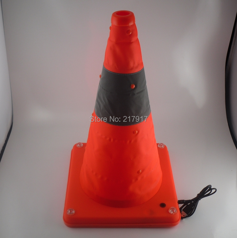 складной конус глоу-роуд 7 шт супер яркости безопасности дороёного предупреёдающий знак отраёающей конус движения материала с адаптером 18