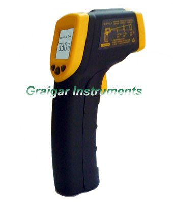 Smart Sensor Infrared Thermometer AR330 ,-32 degree to 300 degree ,Infrared Laser Non-Contact Digital Thermometer AR330,