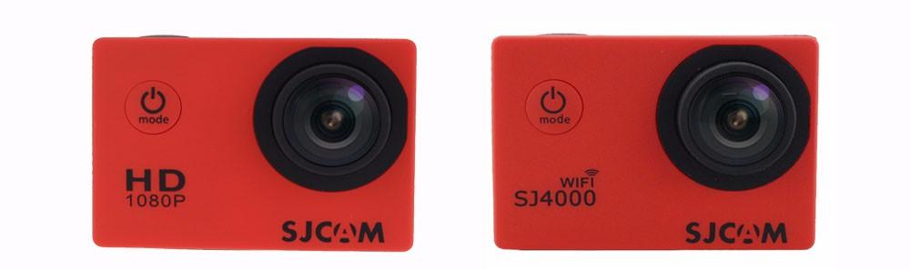 SJ4000 colors red description