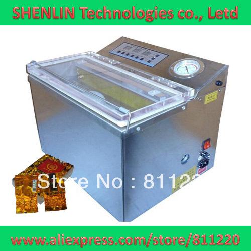 Tea bagging vacuum shrinking machinery DZ-300,aluminum packages sealing equipment tools,plastc bags sealer,CE,air pump 20m3/hour(China (Mainland))