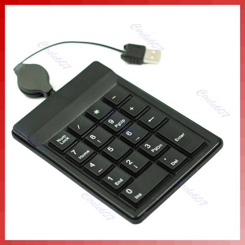 USB Numeric Numerical Keypad Keyboard Pad for Laptop PC