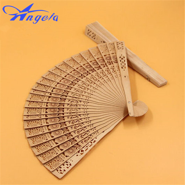 2015 New Ladies Cheaper Wooden Folding Hand Fans,Wholesale Personalized Wood Fan of Old We
