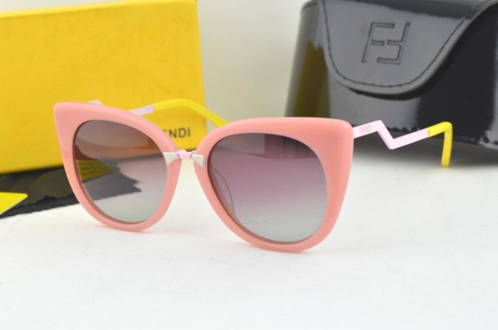 FD 2015 Brand Women Sunglasses Acetate Cat Eye Sunglass Women's FF 0118 Top Quality With Original Case