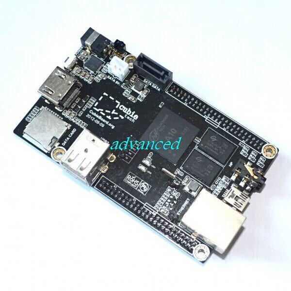 A10 Raspberry Pi Enhance Version Mini PC Cubieboard 1GB ARM Development Board Cortex-A8 Free Shipping(China (Mainland))