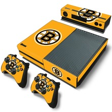 0789 Ice Hockey Boston Bruins Custom Vinyl Protective Sticker Decal Controller kinect Cover For Xbox one Console Registered Mail