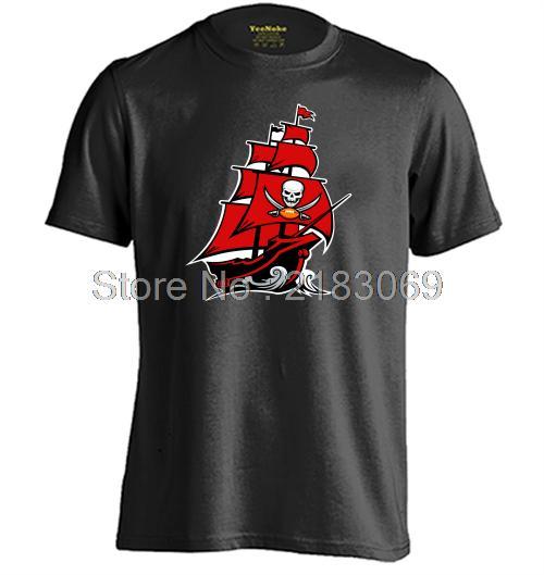 Tampa Bay Buccaneers Mens & Womens Casual Cotton T shirt Short Sleeve O-Neck T Shirt(China (Mainland))