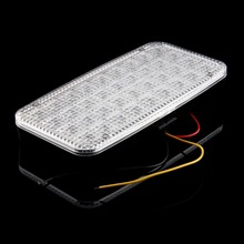 White 36smd Car Truck Indoor Roof Dome Ceiling Interior LED Light Lamp 12V Universal(China (Mainland))