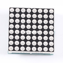 8x8 LED Red & Green Dual Color Dot Matrix Display Module TM1640 for Arduino(China (Mainland))