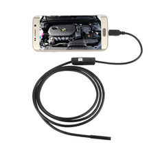 7MM Lens 3.5M Cable HD Waterproof Mini Micro Android Video Endoscope Borescope Inspection Industrial Camera 6 LED USB