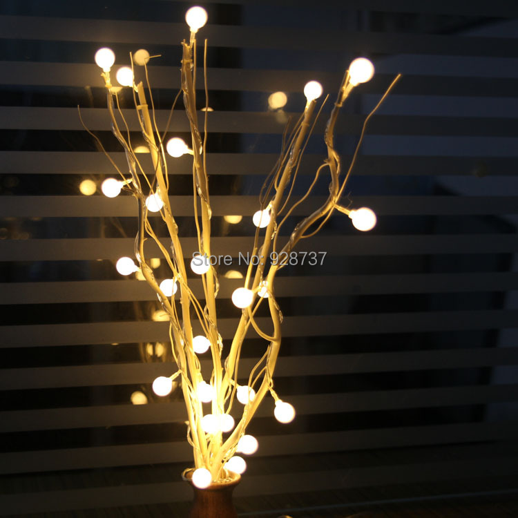 For decoration supplies floor lamp ktv decoration 25 cherry branches led string of lights(China (Mainland))