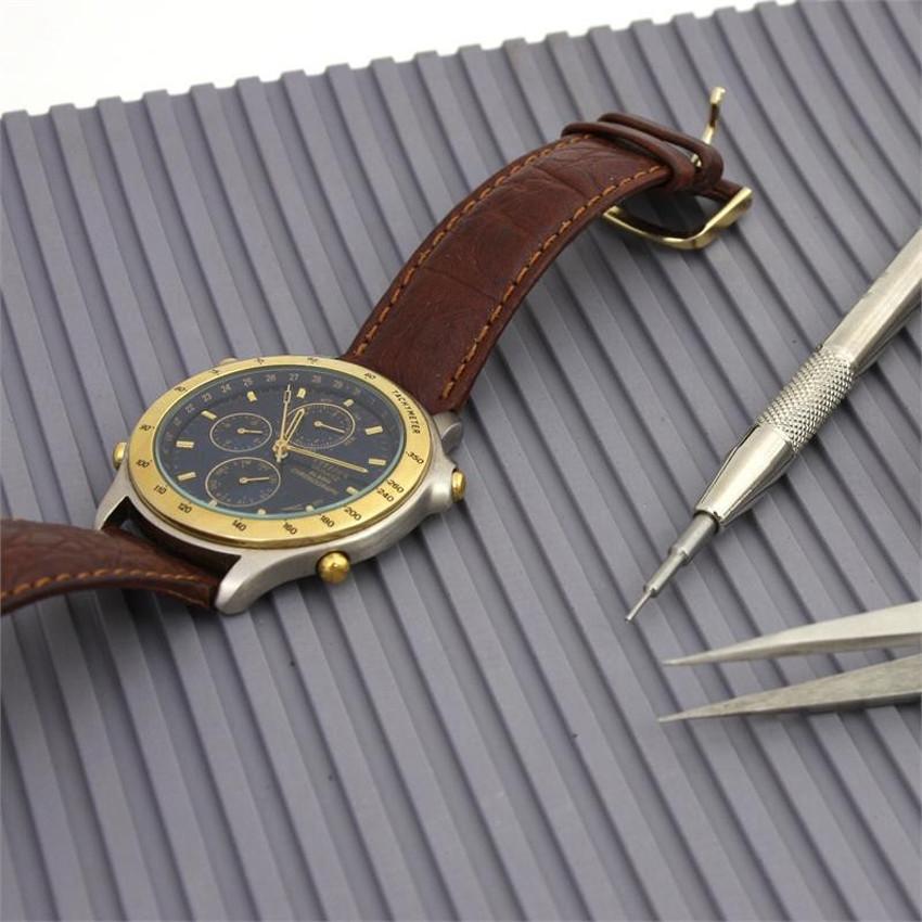 Бесплатная Доставка 30*18 см Резина Не Скользит Коврик подушки Для Смотреть Ремонт Инструменты, Workbench Мат Для часовщики