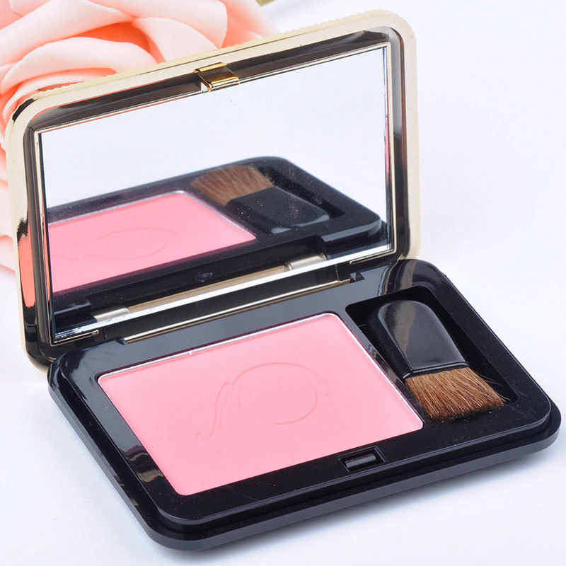 New Women Makeup blusher powder Long persistence blush ladies beauty make up tools FYHJ1071C04(China (Mainland))