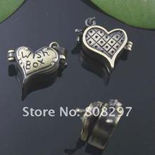 DIY 16*20mm Fashion Necklace,Pendant Bronze European style Prayer Craft Photo Frame Locket Box,Jewelry Finding 20pcs/lot(China (Mainland))