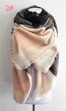 za winter scarf 2015 Tartan Scarf women desigual Plaid Scarf cuadros New Designer Unisex Acrylic Basic Shawls warm bufandas(China (Mainland))