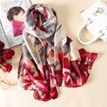Vanled 2017 new brand women scarf fashion summer soft long size shawls silk scarves wrap lady