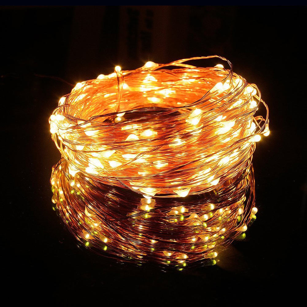 100 LEDs 10M Solar String Lights Fairy Lamp Outdoor Lighting Waterproof For Garden Restaurant Christmas Tree LED Strip Light(China (Mainland))