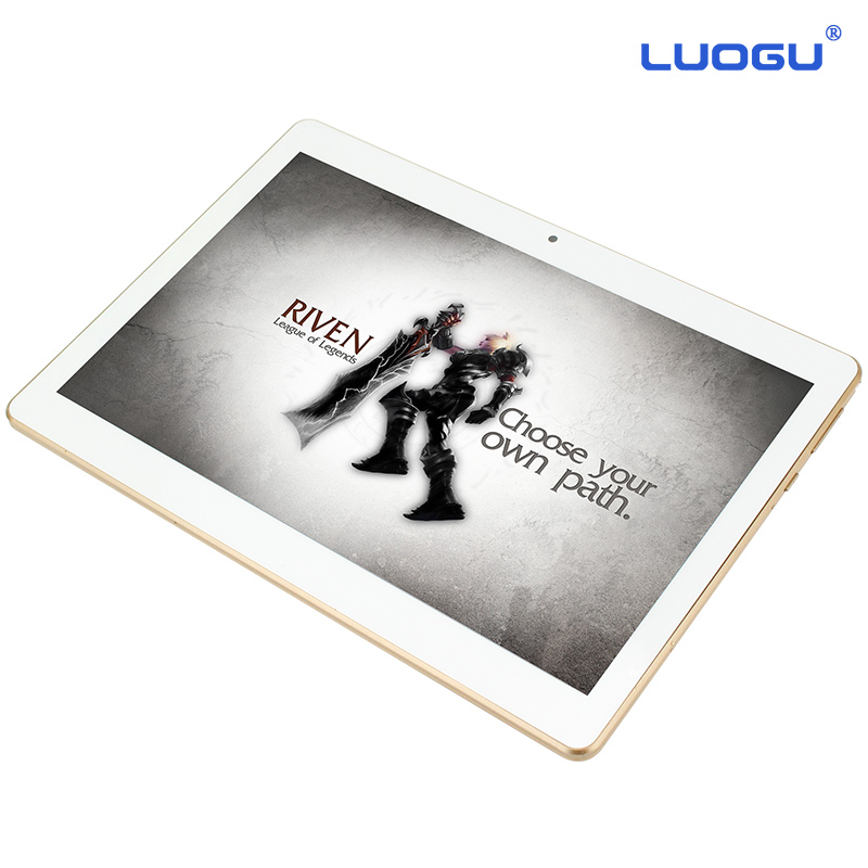 LUOGU T9 10 inch Original 3G Phone Call SIM card Android 4.4 Quad Core CE Brand WiFi GPS FM Tablet pc 2GB 16GB Tablet Pc(China (Mainland))