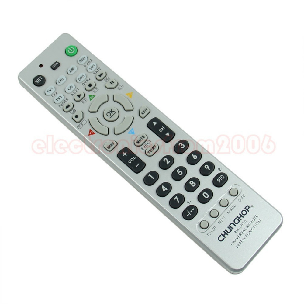 """Y92"""" New Arrive RM-816 Universal Multifunction Remote Control Controller For CBL AMP DVD SAT TV Sets Wholesale(China (Mainland))"""