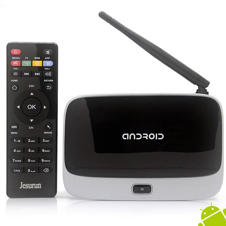 Cs918 Android Tv Box Quad Core Media Player Set top Rk3188 Android Tv Set Top Box USB 2.0,SPDIF HDMI RJ45 OTG(China (Mainland))
