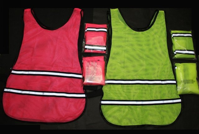 New Arrival~ 50pcs/lot,Cycling vest, Reflective Vest, Running Cycling Vest, Safety Vest~Available in Fluo Yello & Fluo Pink