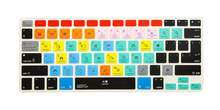 For Ableton Live Functional Shortcut Silicone Keyboard Cover Skin for Macbook Air 13 inch, for Macbook Pro 13, 15, US&European