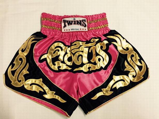 Muay thai boxing trunks Boxing Trunks Free combat pants shorts(China (Mainland))