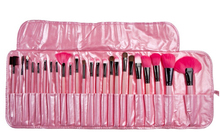 DHL Make up for you Brand Pink Makeup Brushes Set & Kits 24 pcs Makeup Brushes For Makeup Makeup Tools Free Shipping(China (Mainland))