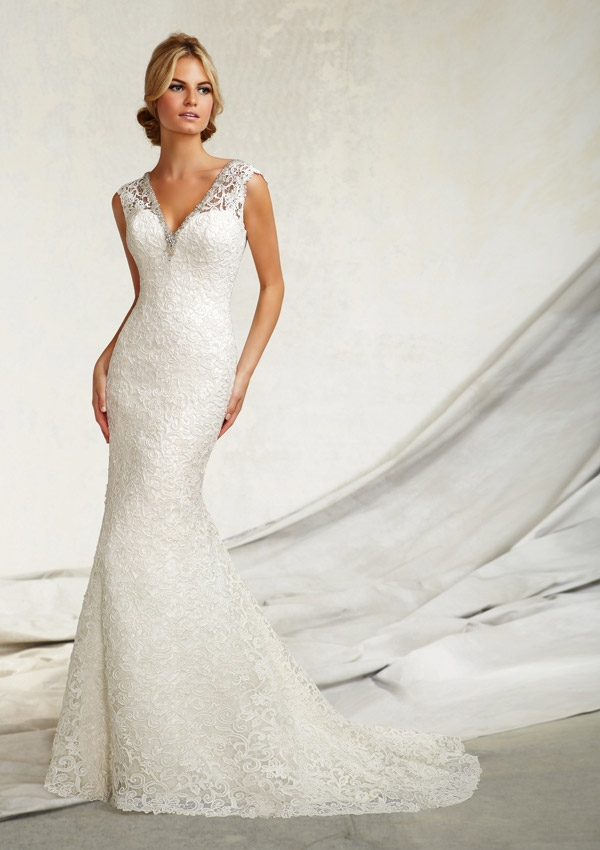 Wedding Dress Italy Floor-length Sheath Zipper V-neck Cap Sleeve Chapel Train Organza Long Bridal Gown Vestido De Noiva(China (Mainland))