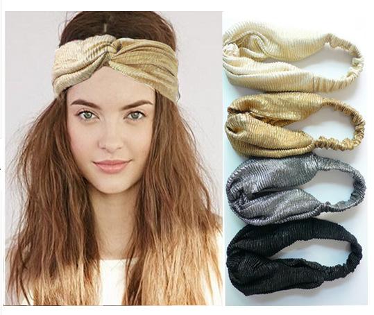 1 Piece Summer Style Twist Headband Turban Elastic Stretch Headwrapr Women Bandanas Hair Bands Turbante Bandage On Head(China (Mainland))