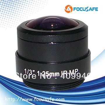 """Megapixel Fisheye Lens 1/3"""" 1.25mm CS Mount Fish Eye Lens(China (Mainland))"""