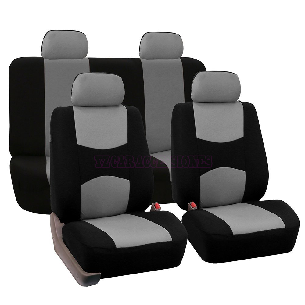 front rear universal car seat covers for ford mondeo focus fiesta edge explorer taurus s max. Black Bedroom Furniture Sets. Home Design Ideas