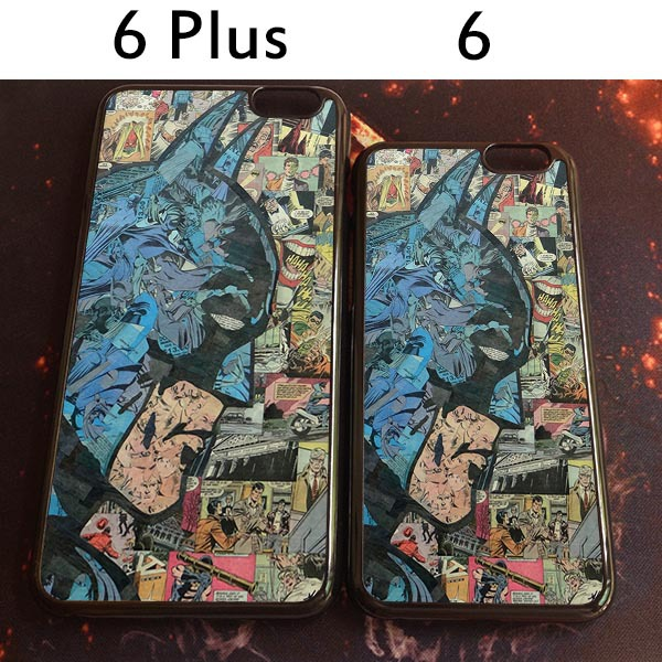 2015 Hot Low Batman hard Phone Case For Apple iPhone 6 and 6plus Vintage Hero Protective Cover(China (Mainland))