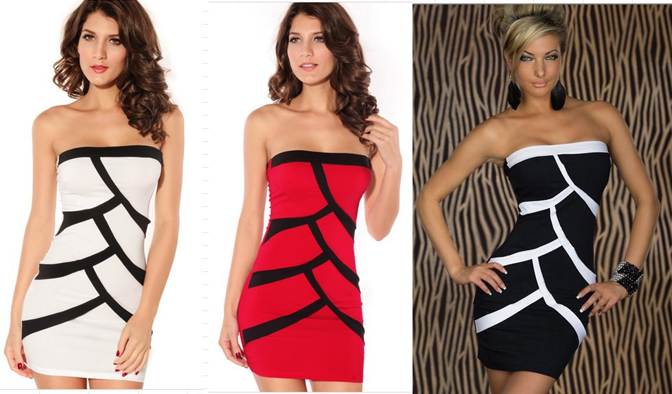 New arrival 2013 fashion one-piece dress sexy lady party wear evening women clothing(China (Mainland))