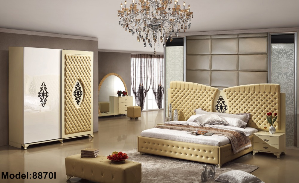 US $1875.0 |Furniture Bedroom Set Furniture Bedroom Set 2018 Moveis Para  Quarto Nightstand Modern Promotion Limited Wooden Bed Room-in Bedroom Sets  ...